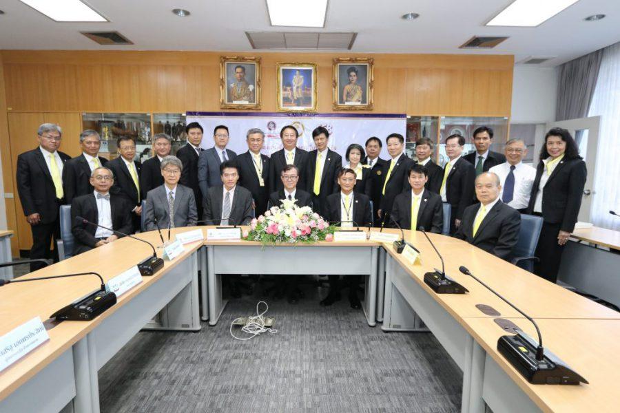 พิธีลงนามบันทึกข้อตกลงรับประกันสุขภาพและอุบัติเหตุกลุ่ม สอ. กฟผ. ปีต่ออายุ 2561 – 2562