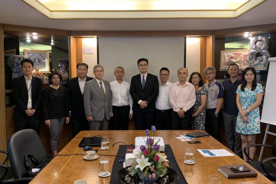 บริษัทฯ ต้อนรับคณะผู้บริหาร MSIG (China)